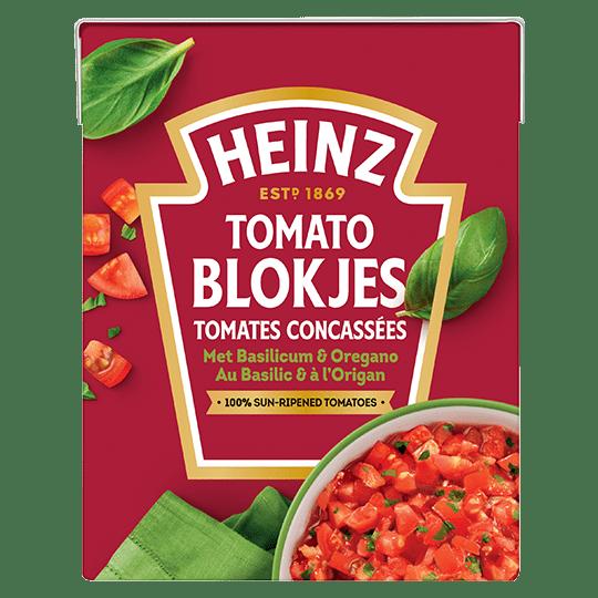 Tomates Concassées au Basilic & à l'Origan