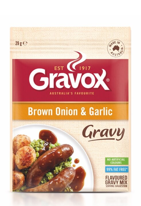 Brown Onion & Garlic Gravy 29g