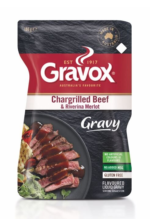 Chargrilled Beef & Riverina Merlot Gravy 160g