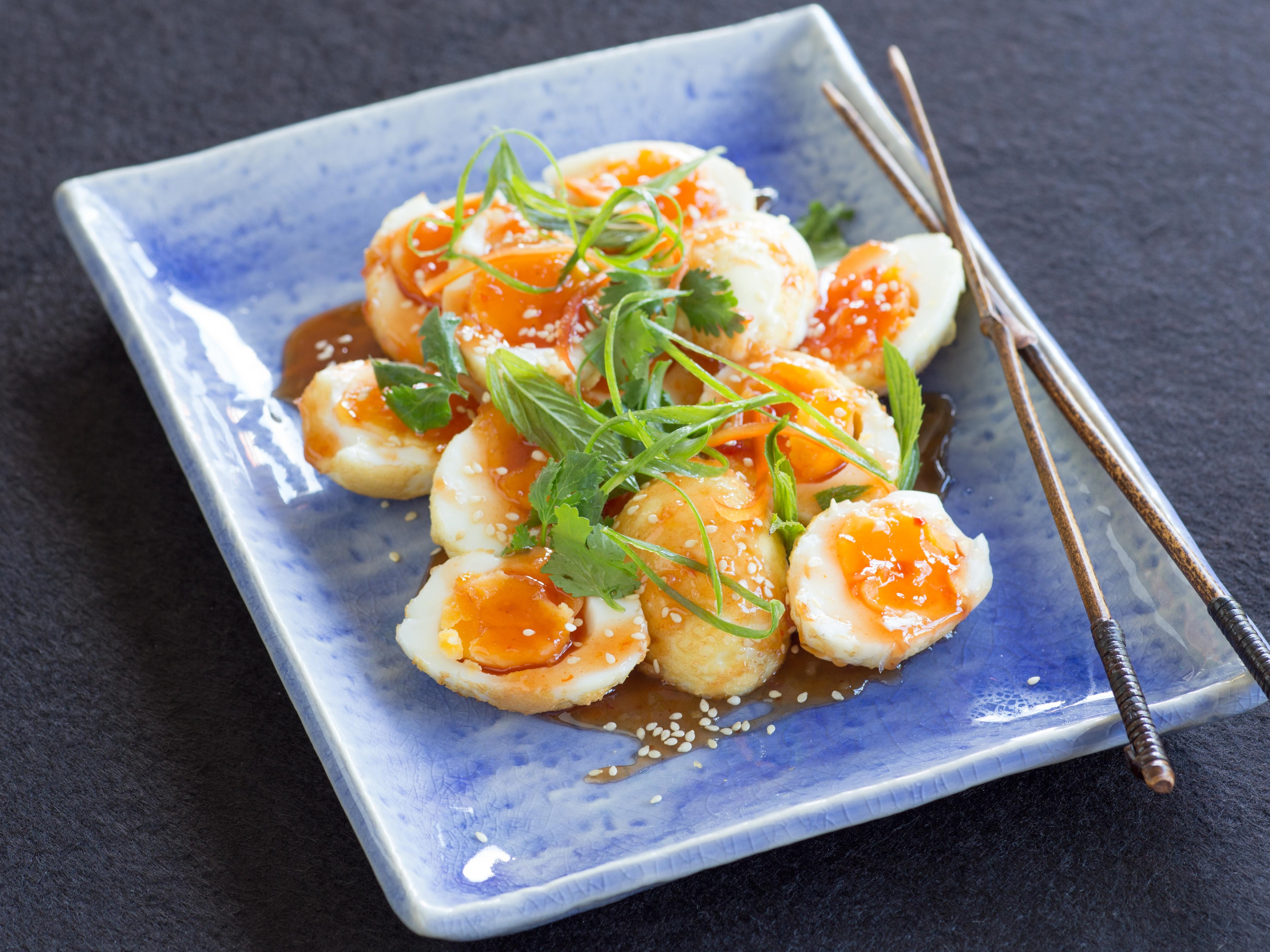 Asian Spiced Eggs