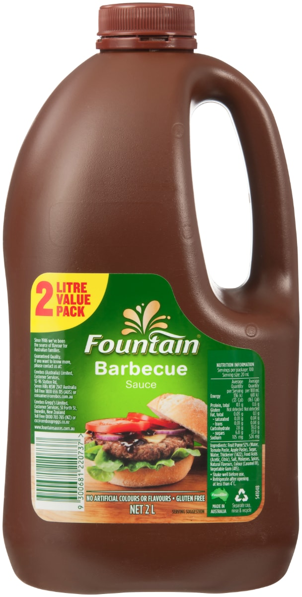 Barbeque Sauce 2L image