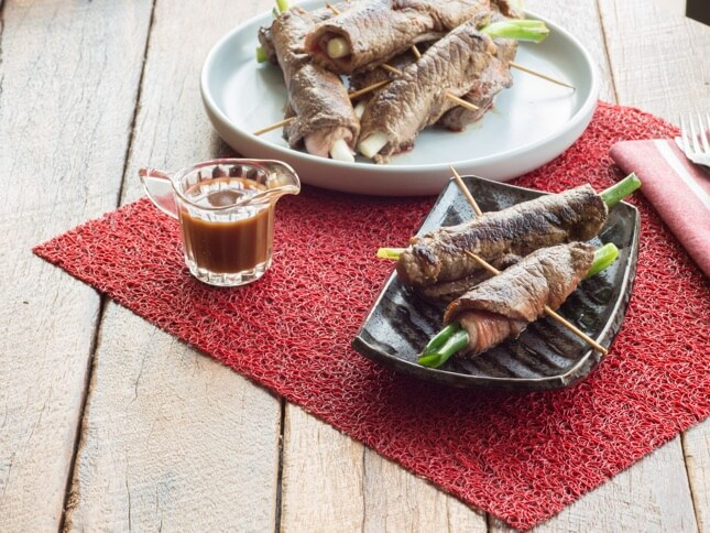 Beef Skewers with Char Grilled Beef image