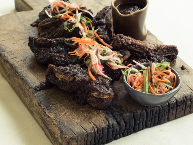 Slow Cooked Korean Beef Ribs