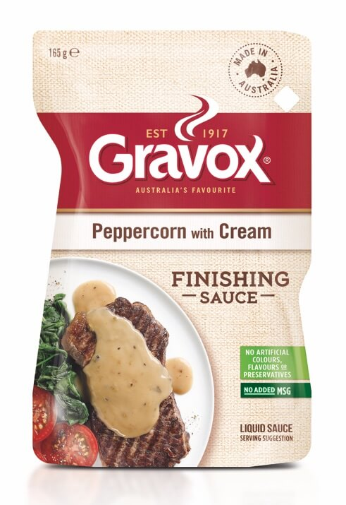 Peppercorn with Cream Finishing Sauce 165g
