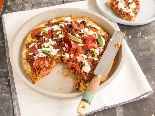 Meat Lovers Pizza with a Kick
