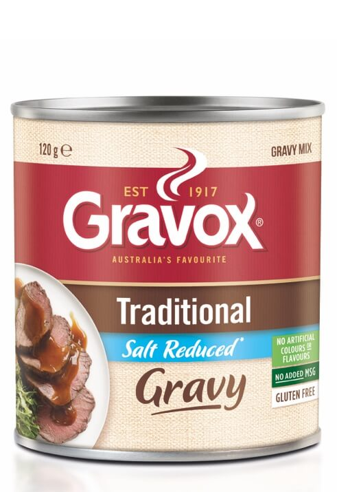 Traditional Salt Reduced Gravy 120g