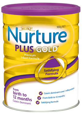 Heinz Nurture® Plus Gold Infant Formula