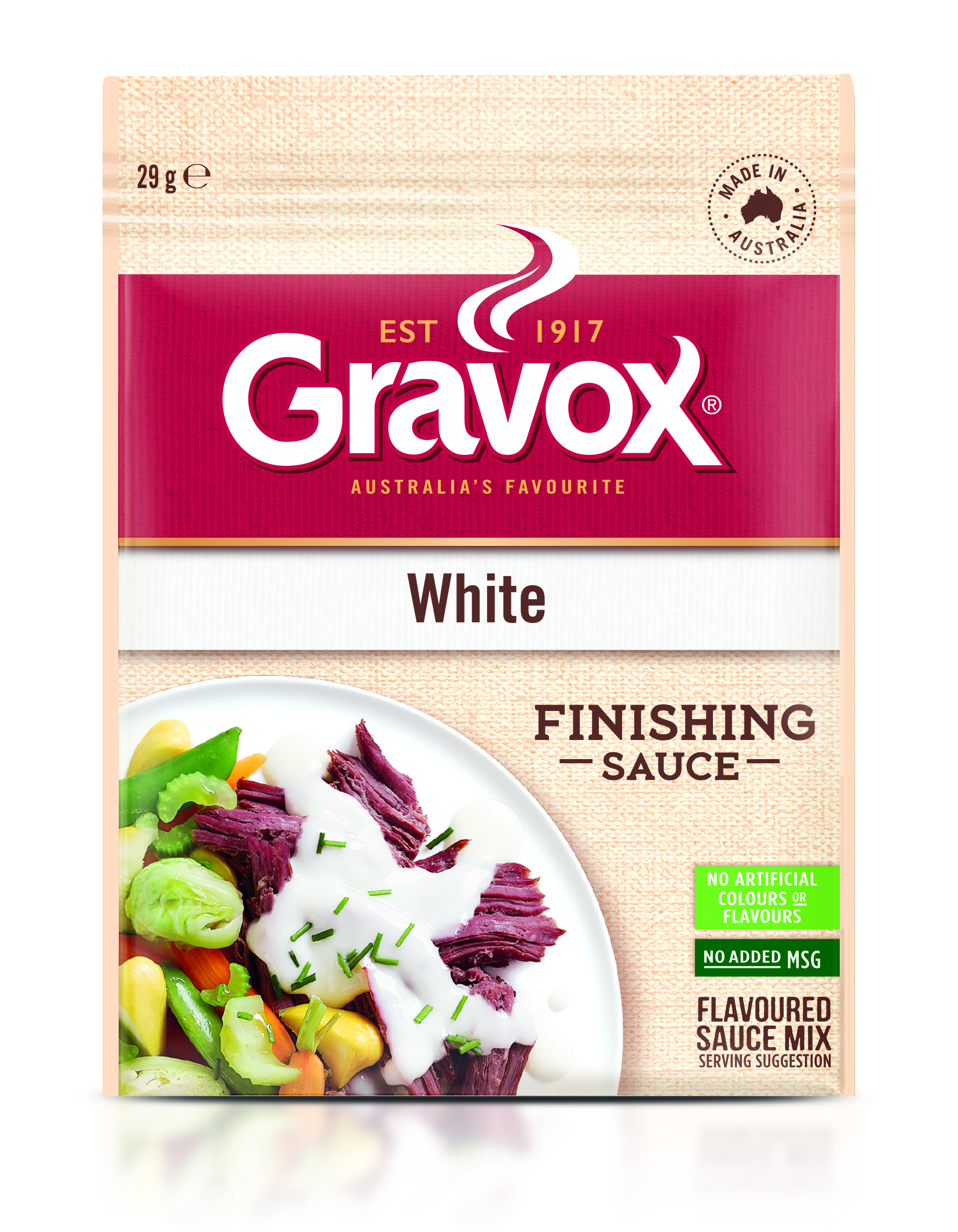 White Finishing Sauce 29g