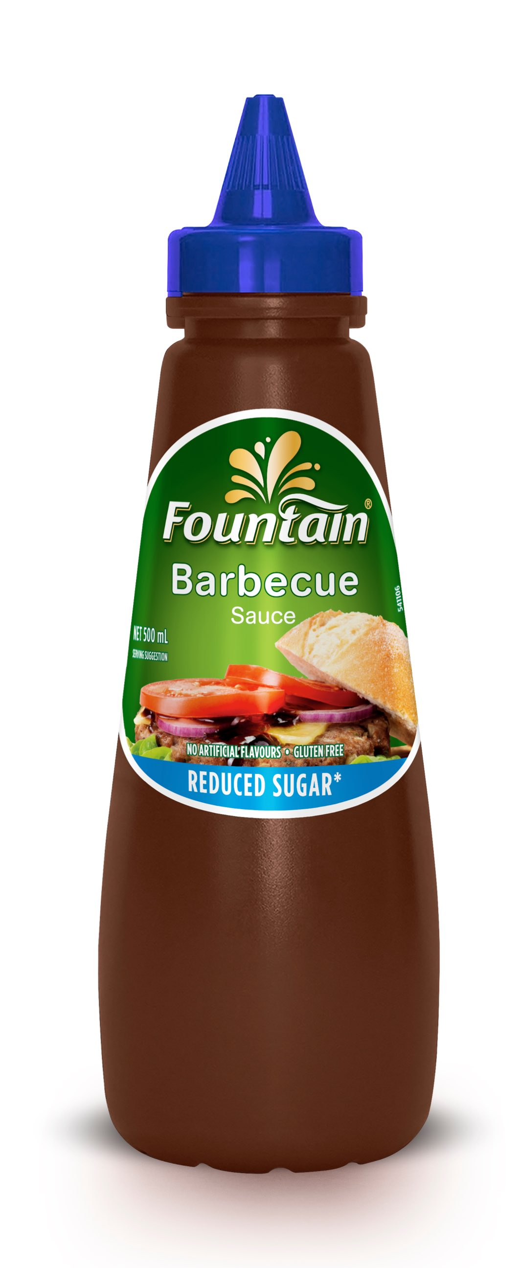 Barbeque Sauce Reduce Sugar 500ML image