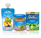 Wattie's ForBaby babyfood Blue Label Stage 1 range